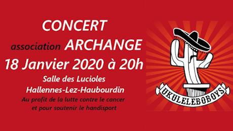 Concert Archange le 18 janvier 2020
