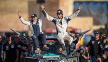 Axel Alletru 1er au Dakar catégorie T3S