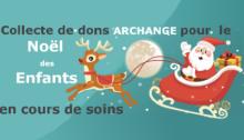 Collecte de dons pour le Noël des Enfants en cours de soins